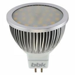 Светодиодная лампа BBK MR-16 M53F 5W 3000K GU5.3