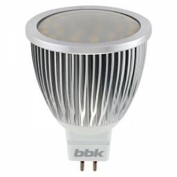Светодиодная лампа BBK MR-16 M653F 6.5W 3000K GU5.3