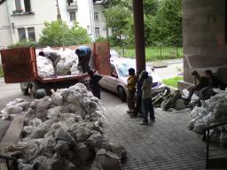 Вынос и вывоз мусора