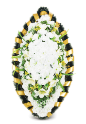 Венок ритуальный искусственный