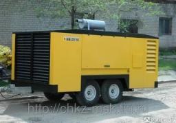 Дизельный компрессор КВ-30/10П