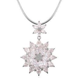 Ожерелье с каменем циркон