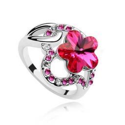 Кольцо с горным хрусталем RMT450