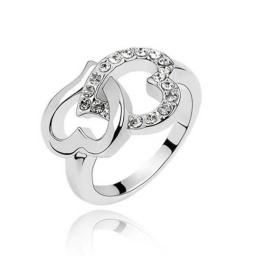 Кольцо с горным хрусталем RMT1621