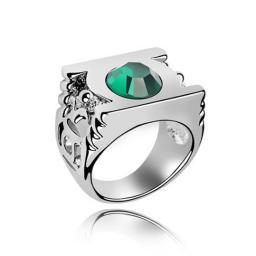 Кольцо с горным хрусталем RMT4183