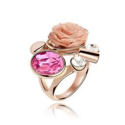 Кольцо с горным хрусталем RMT4663
