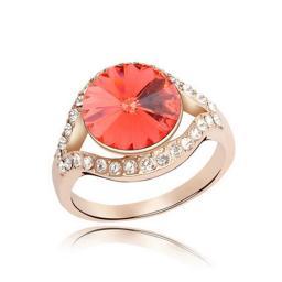 Кольцо с горным хрусталем RMT5114