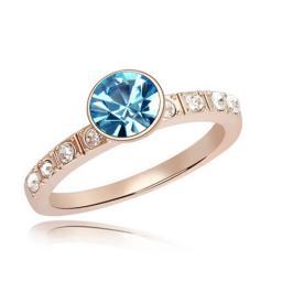Кольцо с горным хрусталем RMT5540
