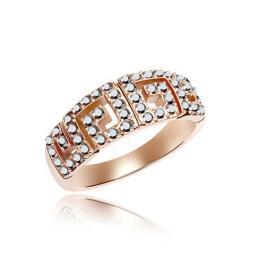 Кольцо с горным хрусталем RMT5552