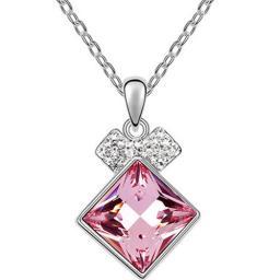 Ожерелье с кристаллами Сваровски NMT5988