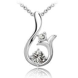 Женское ожерелье с кристаллами Сваровски NMT1184