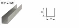 Профиль потолочный ППН 28х27