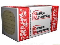 Минеральная плита ИЗБА Стандарт 1000х600х50мм пл.50 12 шт.