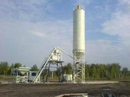 бетонный завод со скипом