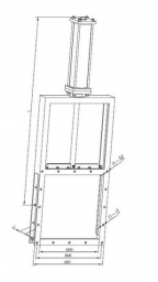 Дисковый поворотный затвор (ручного действия/на конической зубчатой передаче/электрический) LMD-I、II 1150110
