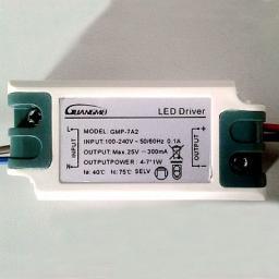 Драйвер для питания светодиодов 4-7w GMP-7A1 12680304