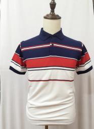 Полосатая рубашка из цветных ниток Polo HY15072107 3120306