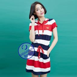 Женское платье с цветными полосами SYWD011 3200209