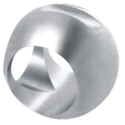 Шары (пробка) для шаровых кранов, Шар для поплавковых шаровых кранов,Шар для трёхходовых поплавковых шаровых кранов 1090103