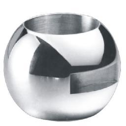 Шары (пробка) для шаровых кранов,Шар для поплавковых шаровых кранов с мягким уплотнением,Шар для поплавковых шаровых кранов с мягким уплотнением 1090104