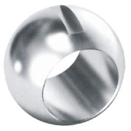 Шары (пробка) для шаровых кранов,Шар для поплавковых шаровых кранов с жестким уплотнением,Шар для поплавковых шаровых кранов с жестким уплотнением 1090105