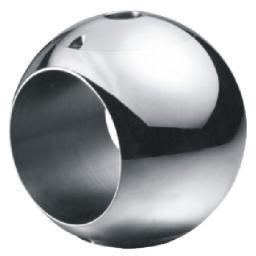 Шары (пробка) для шаровых кранов,Шар для двухходовых фиксированных шаровых кранов,Шар для фиксированных шаровых кранов 1090106