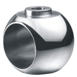Шары (пробка) для шаровых кранов,Шар для фиксированных шаровых кранов с мягким уплотнением,Шар для фиксированных шаровых кранов с мягким уплотнением1090108