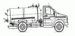 Вакуумная машина ВМК-4 (ГАЗОН-NEXT)