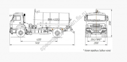 Вакуумная машина ВМК-43253
