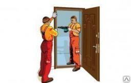 Утепление металлических дверей