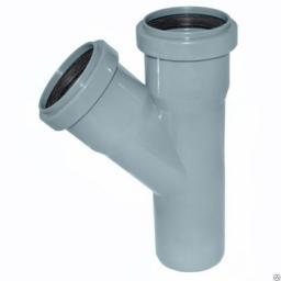 Замена тройника канализации