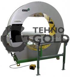 Полуавтоматическая машина для горизонтальной обмотки в стрейч-пленку Neleo 125