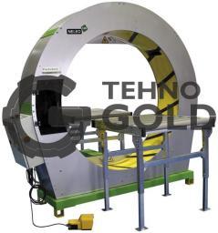 Полуавтоматическая машина для горизонтальной обмотки в стрейч-пленку Neleo 160