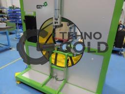 Полуавтоматическая машина для горизонтальной обмотки в стрейч-пленку Neleo N 90