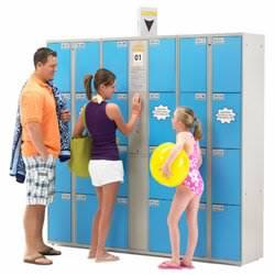 Автоматическая камера хранения для бассейнов