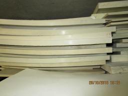 Пластина силиконовая 300х300х0,5 мм белого цвета