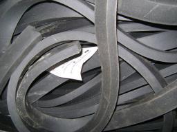 Шнур резиновый 1-1С прямоугольный 12х32 мм