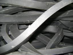 Шнур резиновый 1-1С прямоугольный 3,2х8 мм