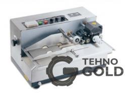 Роликовый термопринтер (маркиратор, датер, термодатер) на чернильных роликах DK-300