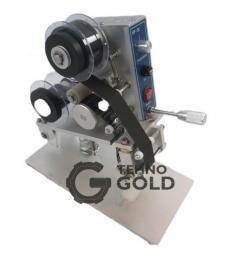 Ручной ленточный термопринтер (маркиратор, датер, термодатер) горячего тиснения DK-100