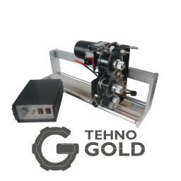 Электромеханический ленточный термопринтер (маркиратор, датер, термодатер) горячего тиснения DK-700