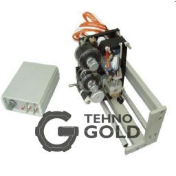Пневматический ленточный термопринтер (маркиратор, датер, термодатер) горячего тиснения DK-700Q