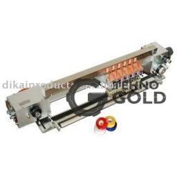Пневматический мультиголовочный ленточный термопринтер (маркиратор, датер, термодатер) горячего тиснения DK-700Q