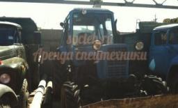 Траншеекопатель на базе трактора МТЗ 82 (траншейный экскаватор)