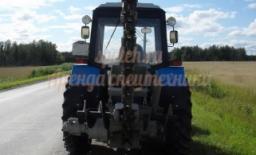 Траншеекопатель на базе трактора МТЗ 82 (грунторез)