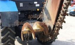 Траншеекопатель на базе трактора МТЗ 82