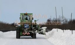 Снегоуборочный грейдер Коматсу
