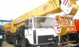 Автокран МАЗ 40 тонн