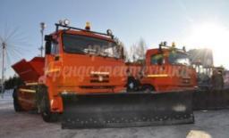 Снегоуборочная лопата Kamaz