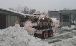 Снегоуборочный минипогрузчик Бобкэт S 100